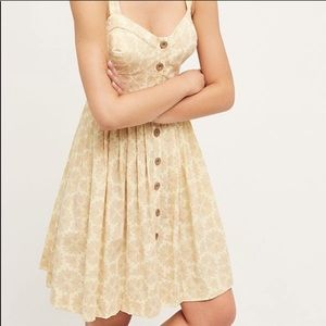 Maeve Cafe Yellow Summer dress - Anthropologie